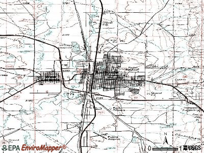 Laramie topographic map