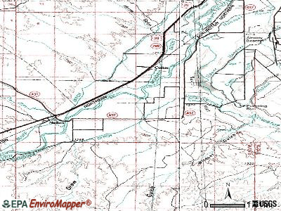 South Flat topographic map