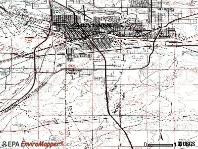 South Greeley topographic map