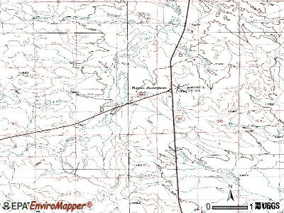 Wright topographic map