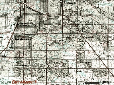 Cherry Hills Village topographic map