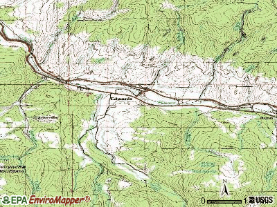 Edwards topographic map