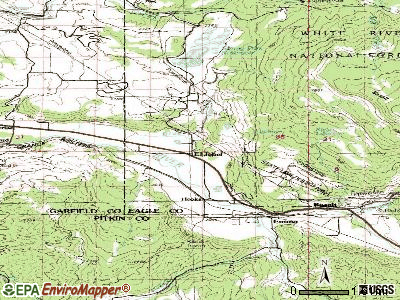 Eldorado Springs topographic map