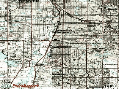 Englewood topographic map