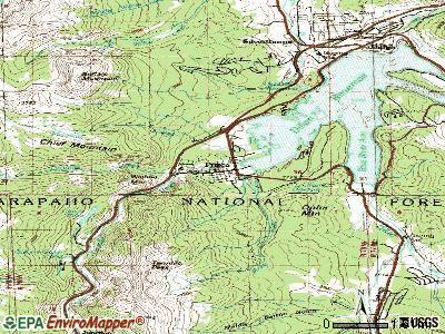 Frederick topographic map