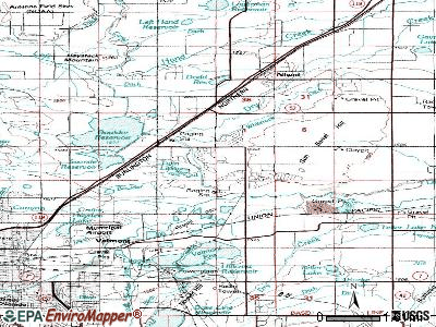 Gunbarrel topographic map