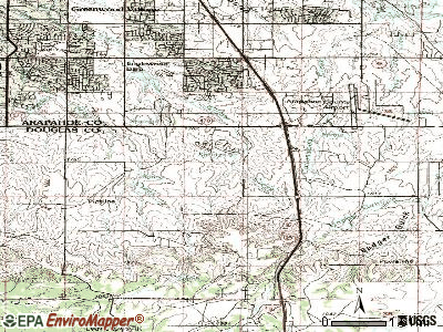 Lone Tree topographic map