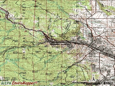Topographic Map Colorado Springs.Manitou Springs Colorado Co 80829 Profile Population Maps Real