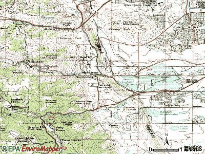 Morrison topographic map
