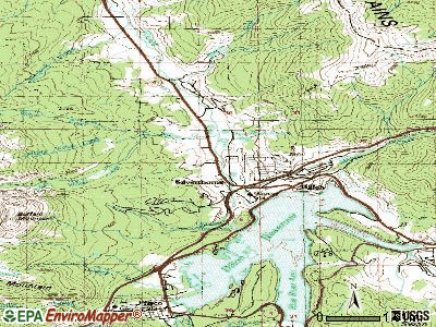 Silverthorne topographic map