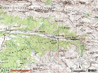 Telluride topographic map