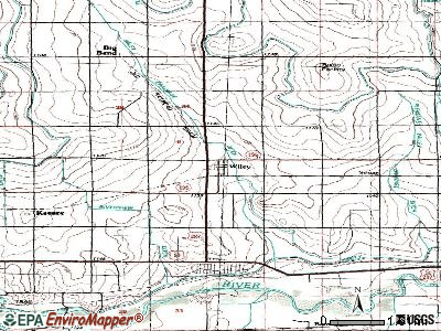 Wiley topographic map