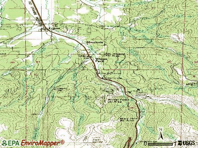 Winter Park topographic map