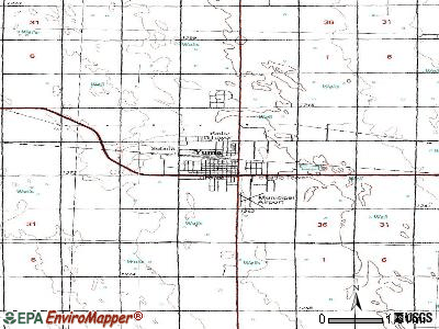 Yuma topographic map