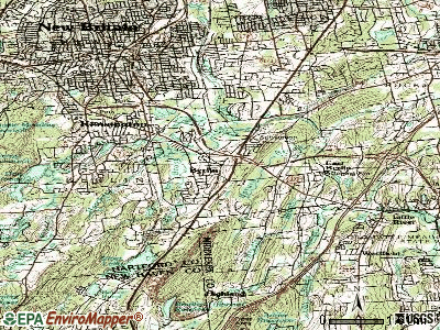 Berlin topographic map