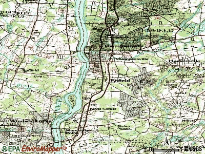 Enfield topographic map