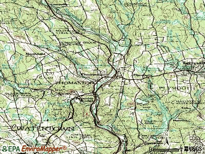 Thomaston topographic map