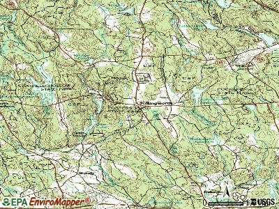 Killingworth topographic map