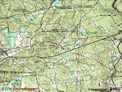 Tolland topographic map