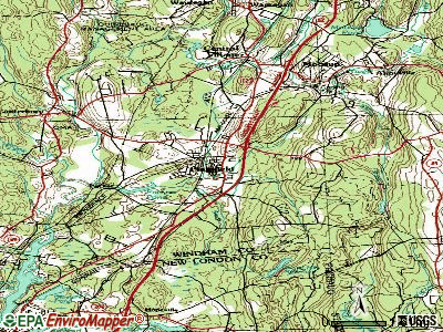 Plainfield topographic map
