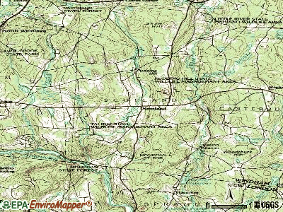 Scotland topographic map