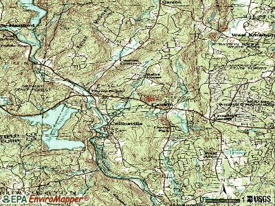 Canton Valley topographic map