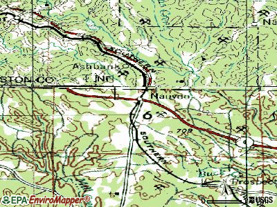 Nauvoo topographic map