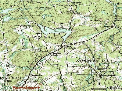 New Preston topographic map