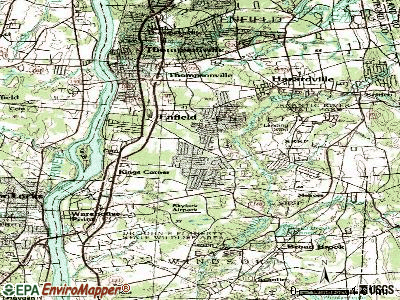 Southwood Acres topographic map