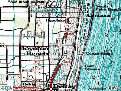 Boynton Beach topographic map