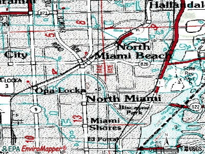 Golden Glades topographic map