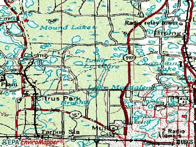 Greater Northdale topographic map