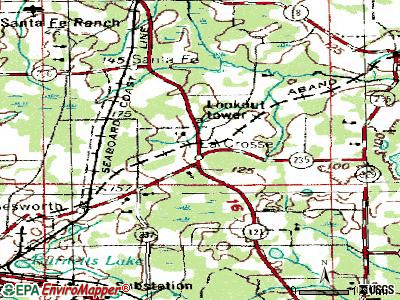 La Crosse topographic map