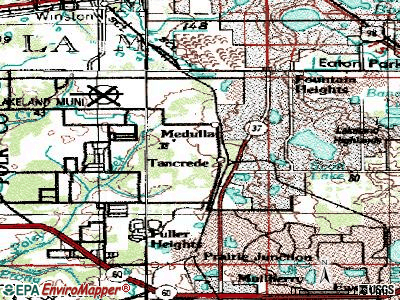 Melrose Park topographic map