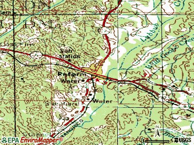 Reform topographic map