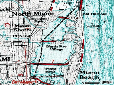 North Brooksville topographic map