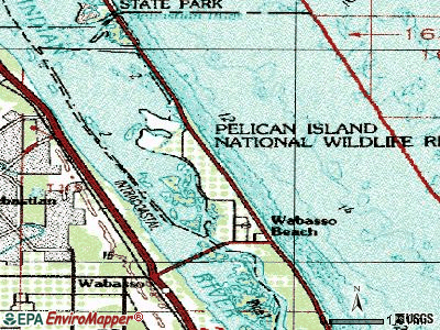 North Key Largo topographic map