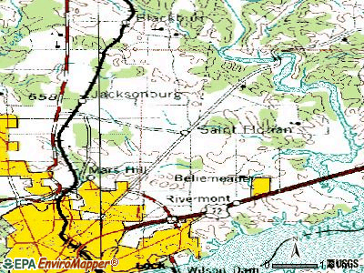 St. Florian topographic map