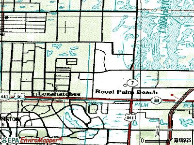 Royal Palm Beach topographic map