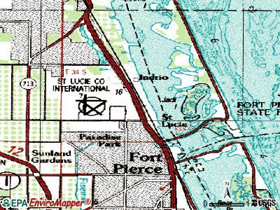 St. Cloud topographic map