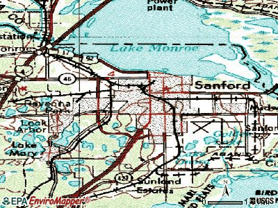 Sarasota topographic map