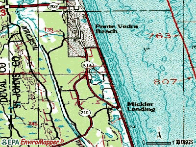 Sawgrass topographic map