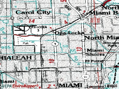 Westview topographic map