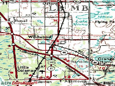 Wildwood topographic map