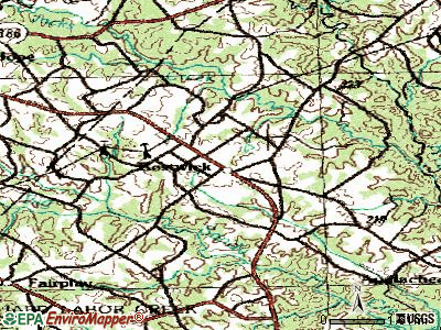 Bostwick topographic map