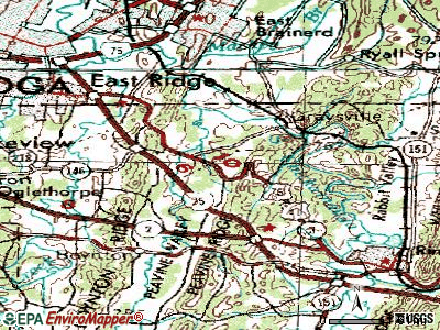 Indian Springs topographic map