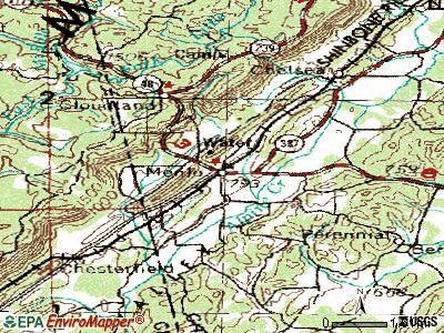 Menlo topographic map
