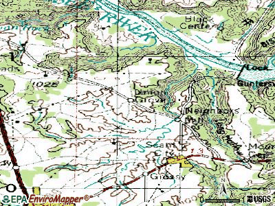 Union Grove topographic map
