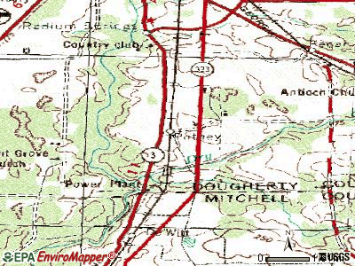 Putney topographic map