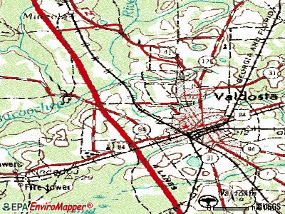 Remerton topographic map